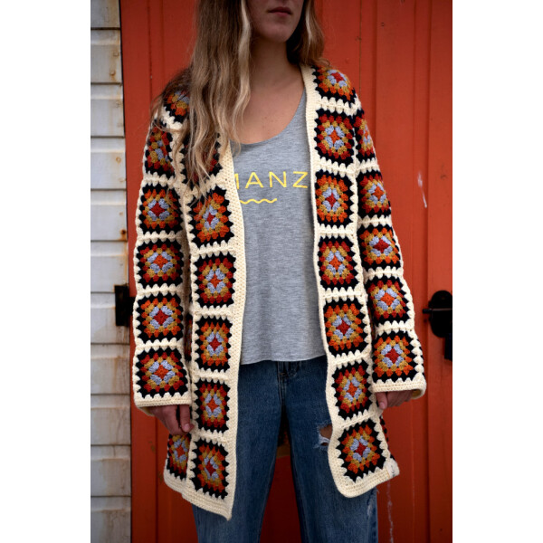 Handmade Crocheted Cardigan