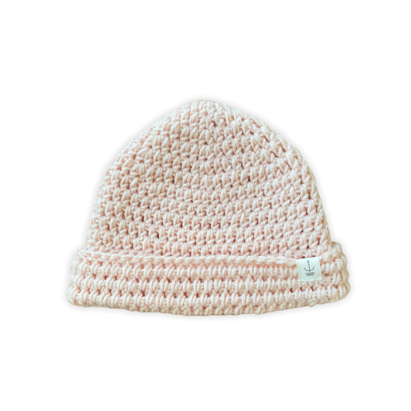Amanzi-clothing-lite-turnup-hat-pastel-peach