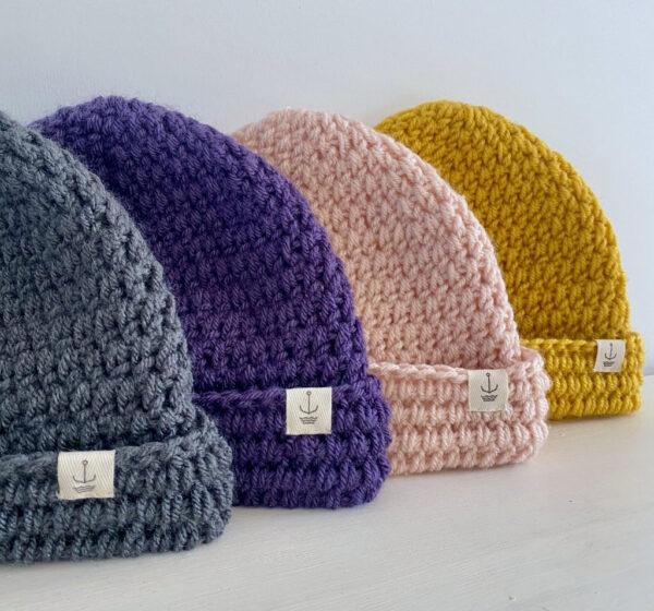 Amanzi Clothing Lite Turn Up Handmade Hat