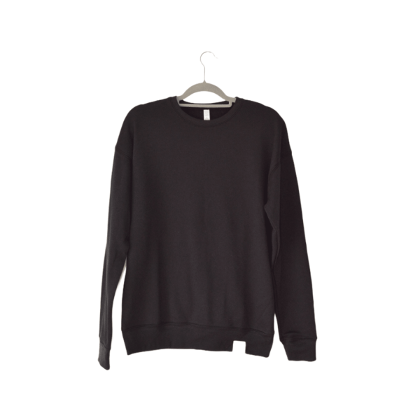 The Plain Sailor Sweatshirt - Black - Amanzi Clothing