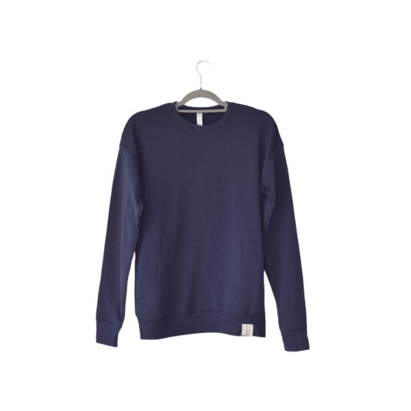 The Plain Sailor Sweatshirt - Navy - Amanzi Clothing