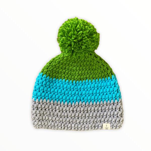 Amanzi Clothing The bobble hat Evergreen