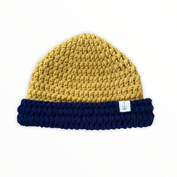 Amanzi Clothing Two Tone hat folded